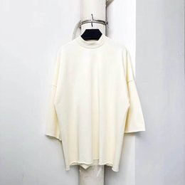 Ingrosso Nuovo servizio Kanye West Sunday Holy Spirit Cpfm T-Shirt Uomo Donna Casual Allentato Top Tees Oversize Cotton Kanye West T-shirt