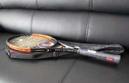 Wholesale Pro Staff 95 S Tennis Rackets with line and bag top quality Racquet 1 pcs free shipping on Sale