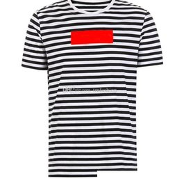 $enCountryForm.capitalKeyWord NZ - 100% Famous Designer Mens T Shirts Men Stripe Designer Summer Men T-Shirts Crew Neck Homme Tee Shirts Short Sleeve Man tshirt tops