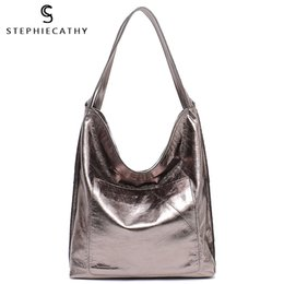 $enCountryForm.capitalKeyWord Australia - SC New Fashion Luxury Leather Women Hobos Large Capacity Shoulder Bags Ladies Real Leather Soft Handbags Female Casual