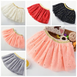Baby Pettiskirts Tutus Australia - little girls clothing gold sequin tulle skirts kids princess skirt infant baby glitter pettiskirts christmas childrens boutique clothing hot