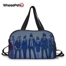$enCountryForm.capitalKeyWord Australia - WHOSEPET Fashion Travel Bag Psycho-Pass Cartoon 3D Prints Pattern Beautiful Girls Hand Luggage Totes Bag Sports Bags for Women