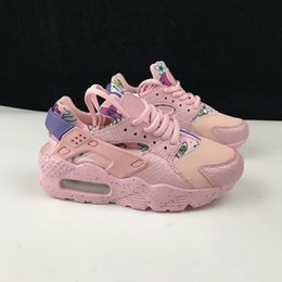 huarache kid 2019 - Top Quality kids Huarache Shoes Unisex big Kids Boys girls Men All Black Running Shoes Huraches Casual Sneakers Trainer