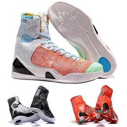 $enCountryForm.capitalKeyWord NZ - Kobe Wholesale KB 9 IX Elite Black Mamba Blackout Christmas High Top Mens Boots Shoes Size EUR 40-46
