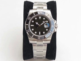 China N00 factory production, luxury men's automatic mechanical wrist table 116610, ETA 2836, diving 100 meters, sapphire mirror, 904L steel cheap green folding table suppliers
