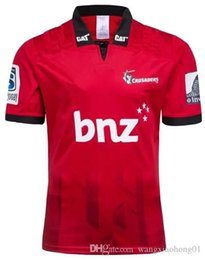 $enCountryForm.capitalKeyWord Australia - 2018 CRUSADERS super rugby training jersey New Zealand Super Rugby Union Crusaders High-temperature jersey shirts size S-5XL (can print)