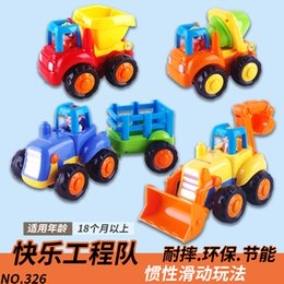 $enCountryForm.capitalKeyWord Australia - Hot Sell Children's Car Excavator Engineering Bulldozer Inertial Vehicle Toy Car Tractor Boy Set Toys