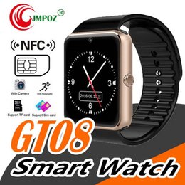 $enCountryForm.capitalKeyWord Australia - Smartwatch GT08 Clock Support Sync Notifier Sim Card Bluetooth Connectivity for Android Apple iPhone Phone Smart Watch Smartwatch-GT08-Cloc