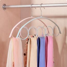 $enCountryForm.capitalKeyWord Australia - clothes hanger Hoomall Closet Organizer Clothes Hanger Neck Tie Belts Holder Organizer Home Wardrobe Bra Underwear Rack Storage Shelf