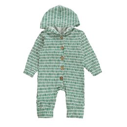 $enCountryForm.capitalKeyWord NZ - baby romper hooded long sleeve newborn rompers Baby Infant Boy Designer Clothes infant jumpsuit baby boy clothes boys romper A7891