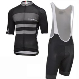Cycling Clothing Sets UK - New Arrival COLNAGO Cycling Jersey Men suits short sleeve shirt bib shorts set Breathable Cycling Clothing Summer mtb Bicycle Wear Y021402