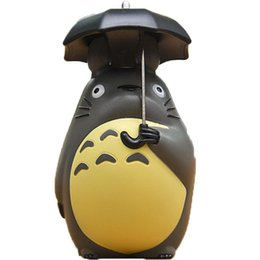1 Pcs Creative Totoro Spring Figure Toy Totoro Action Figurens Doll Juguete Christmas Gift Home Car Decor Toys & Hobbies