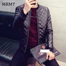Wholesale mens leather bomber jackets for sale - Group buy 2019 Brand Leather Clothing Mens Jacket Coat Fall Winter Biker Bomber male Jacket thin men s Jackets Men PU Warm coats