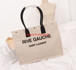 high end hand bags Australia - Shopping Bags For Women Linen Shopping Hand Bag personality high end top quality best