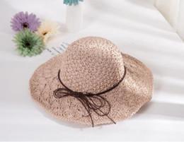 68c2ffd2b3a8d3 2019 new hot trend ladies summer straw hat beach sun protection sun hat  Korean version of the folding holiday sunshade beach