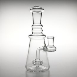 $enCountryForm.capitalKeyWord Australia - New 7 Inch Glass Bong Dab Rig with 14mm Female Thick Heady Glass Water Bongs Honeycomb Beaker Bong Bubbler Water Pipe for Smoking