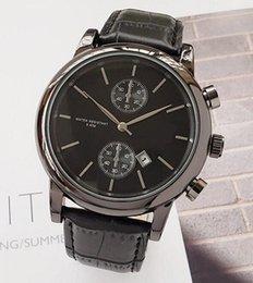 $enCountryForm.capitalKeyWord Australia - High quality fashion men leather quartz wrist watch wholesale casual analog auto date men dress watch hot sale gifts male clocks