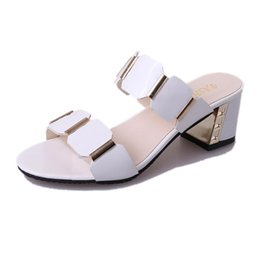 2d30ab994497ee Sexy 2019 fashion hot Ladies Fish Mouth Slipper High Heels Sandals Home Slippers  Plus Size Antiskid Toes Party Shoes Flip Flops Hot Sale 10