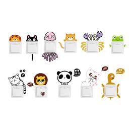 $enCountryForm.capitalKeyWord Australia - Cute Animal Pattern Light Switch Sticker For Bedroom Decoration