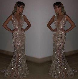 Kobiety Bez Rękawów wieczornych Party Deep V Szczupła Dopasowana Długa Sukienka Dla Cocktail Formalne Sexy Eleganckie Sukienki Bodycon
