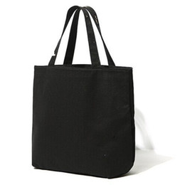 Thermal cloThing black online shopping - Chunky Black Shopping Bags Cosmetics Candy Book Designer Handbags Practical With Handle Storage Bag Hot Sale sl BB