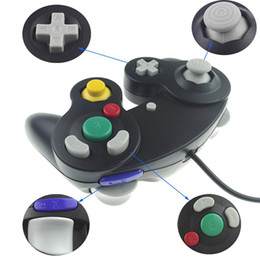 Game controller cable online shopping - High quality Colors NGC Wired Game Controller Gamepad for NGC Gaming Console Gamecube Turbo DualShock Wii U Extension Cable without Box