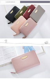 $enCountryForm.capitalKeyWord NZ - Long Wallet for Women Brand Zipper Female Wallets Money Coin Purse Cell Phone Pocket Women Card Holder Coin Bag Ladies