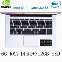 ssd for laptop NZ - P2-26 6G RAM 512G SSD Intel Celeron J3455 NvIDIA GeForce 940M Gaming laptop keyboard and OS language available for choose