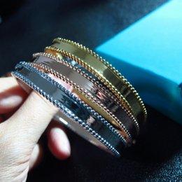 Опт Узкий размер группы на Ближнем Востоке новый модельер печатных браслет Браслет 18K позолоченный браслет медь дизайнер партии ювелирных изделий для женщин