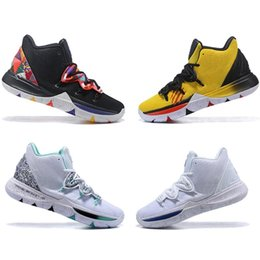 90ba357b855a Irving 2019 Limited 5 Men Basketball Shoes 5s Black Magic for Kyrie  Chaussures de basket ball Mens Trainers Sneakers Zapatillas 40-46