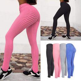 d30fb2ac97 Wholesale Pink Yoga Pants Australia - New Women Knitted Jacquard Yoga Pants  Fitness Gym Sports Leggings