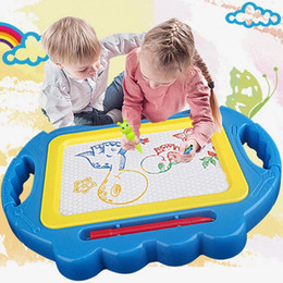 $enCountryForm.capitalKeyWord Australia - Kids Children Sketchpad Colorful Drawing Board Baby Toddler Puzzle Toy Fashion New Kids Drawing Board