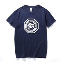 $enCountryForm.capitalKeyWord UK - American Tv Play Series Lost Dharma Initiative T-shirt Fitness Cotton Short Sleeve Fans T Shirts Tops Tees Camisetas Masculinas SH190628