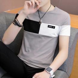 $enCountryForm.capitalKeyWord Australia - 95% cotton Short Sleeve male T-shirt summer dress thin bottom shirt men's half-sleeved body-shirts top streetwear