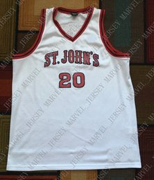 Cheap custom Retro 80s Chris MULLIN 1985 St JOHNS Red Storm SJU Basketball  JERSEY Stitched Customize any number name MEN WOMEN YOUTH XS-5XL 7e407b961