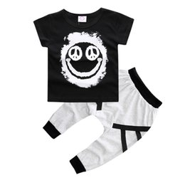Discount boy cars t shirts - Summer Kids Baby Boys Children's Clothing Explosion Models Boys Cotton Cartoon T-shirt + Car Woven Pants 2 Sets Cas
