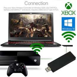 laptop wireless controller Australia - Gaming ABS PC USB Adapter Laptops Wireless Gamepad Tablet Controller Receiver For XBOX ONE For Windows