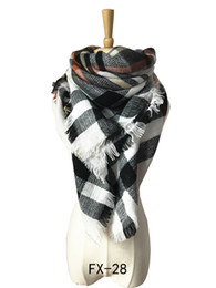 $enCountryForm.capitalKeyWord UK - High Quality Europe In Autumn Winter Cashmere Increase Double Colorful Plaid Square Scarf Scarf Air Conditioning Shawl Wholesale