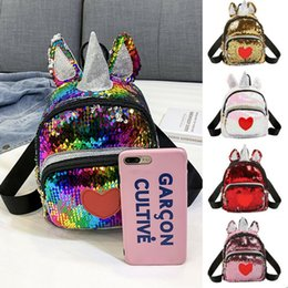 womens mini backpacks Australia - UK Cute Girl Womens Sequin Mini Backpack School Bag Travel Cute Glitter Sparkly Bag Shoulder