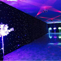 $enCountryForm.capitalKeyWord NZ - Hot Sale LED Star Curtain Fireproof Cloth Set For Nightclub Stage Wedding Backdrops Centerpieces Supplies Size Customization