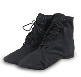 a92c9ca40 canvas Adult children practice kung fu dance shoes soft soles Ballet shoes  Yoga belly dancing shoe JAZZ Women Men Footwear
