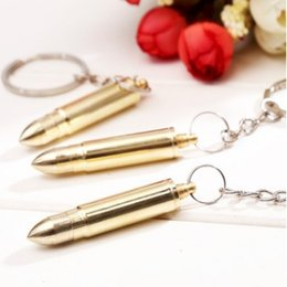 Lovely Gadget Australia - METAL SIMULATION BULLET SHAPE WITH EARPICK KEYCHAIN KEYRING PRACTICAL CHARM KEY CHAIN KEY RING LOVELY KEYS GADGET ACCESSORIES DAILY GIFT
