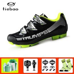 $enCountryForm.capitalKeyWord Australia - Tiebao sapatilha ciclismo mtb Cycling shoes 2019 SPD Pedals bicycle shoes self-locking breathable riding mountain bike sneakers