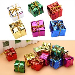 Gift Craft Christmas Ornament Australia - Candy box Gift Bag pendant for Birthday Christmas Wedding Party Decoration craft DIY favor Hanging Ornament