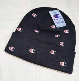 $enCountryForm.capitalKeyWord Australia - Fashion Cartoon Bear polo Beanie Street Hip Hop Beanie Winter Warm hat Knitted Wool Hats for Women Men gorro Bonnet Beanies Caps wholesale