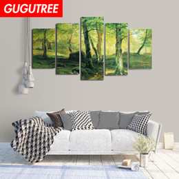 $enCountryForm.capitalKeyWord Australia - Decorate home 3D forest cartoon art wall sticker decoration Decals mural painting Removable Decor Wallpaper G-2411