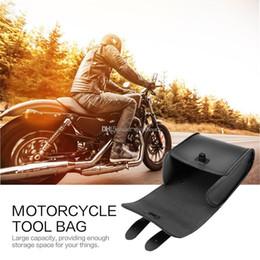 $enCountryForm.capitalKeyWord Australia - wholesale Universal Motorcycle Bike Leather bag Front Handlebar Tool Bag Luggage Saddle Bag Synthetic Motorcycle or Bike