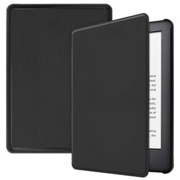 Waterproof case for kindle online shopping - For Amazon New Kindle Paperwhite inch Magnetic Trifold Rotating Leather Smart Case Stand cover