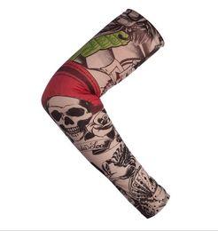 47fb144a9 Protective Arm Sleeves Tattoos Australia - Wholesale Outdoor Sport Anti-UV  Fake Tattoo Sleeves Motorcycle