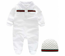 Wholesale best summer cartoons online – design Best Baby Fashion Rompers Cotton Short Sleeve Baby Girls Apparels Cartoon Infant Jumpsuits Summer Baby Girls Rompers
